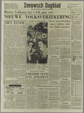 Zeeuwsch Dagblad 1962-09-01