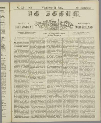 De Zeeuw. Christelijk-historisch nieuwsblad voor Zeeland 1912-06-26