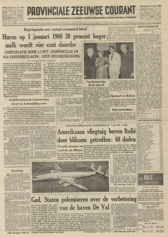 Provinciale Zeeuwse Courant 1959-06-27