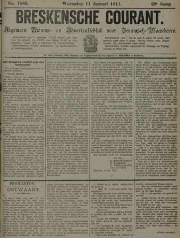Breskensche Courant 1911-01-11