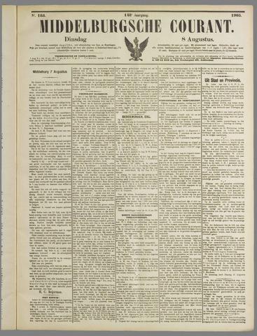 Middelburgsche Courant 1905-08-08