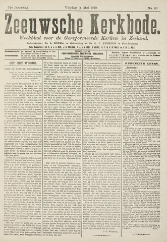 Zeeuwsche kerkbode, weekblad gewijd aan de belangen der gereformeerde kerken/ Zeeuwsch kerkblad 1920-05-14