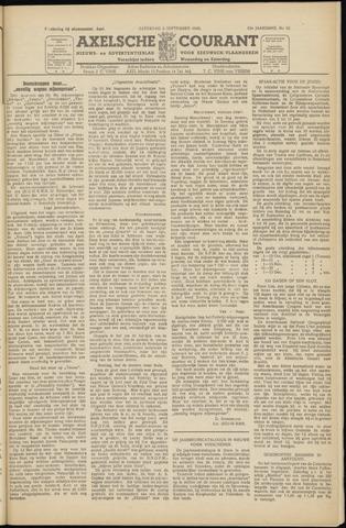 Axelsche Courant 1949-09-03