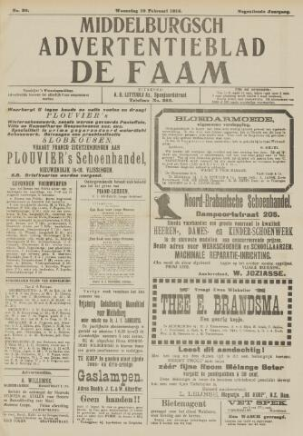 de Faam en de Faam/de Vlissinger 1915-02-10