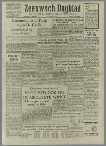 Zeeuwsch Dagblad 1958-05-29