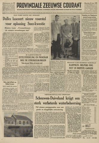 Provinciale Zeeuwse Courant 1956-08-20