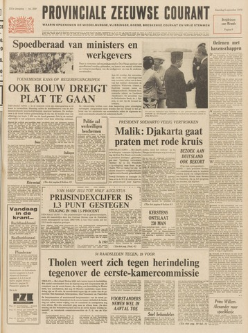 Provinciale Zeeuwse Courant 1970-09-05