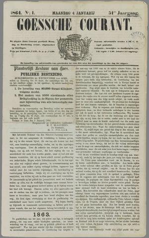 Goessche Courant 1864