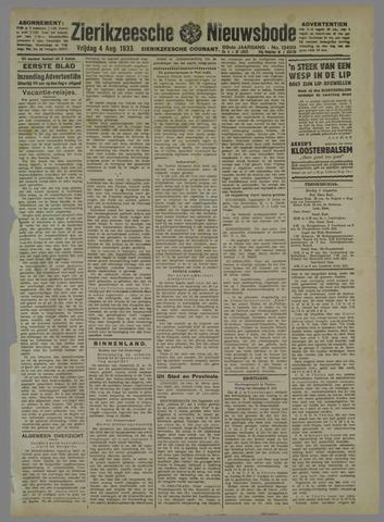 Zierikzeesche Nieuwsbode 1933-08-04