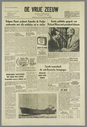 de Vrije Zeeuw 1968-11-13