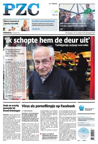 Provinciale Zeeuwse Courant 2015-02-11
