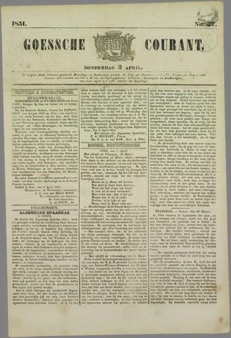 Goessche Courant 1851-04-03