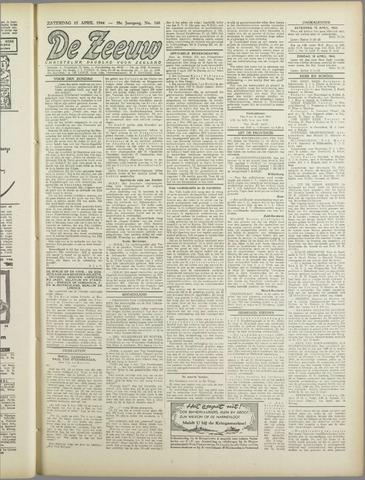 De Zeeuw. Christelijk-historisch nieuwsblad voor Zeeland 1944-04-15
