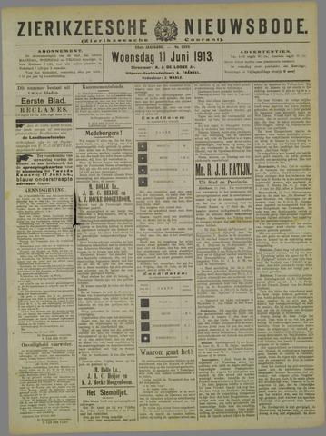 Zierikzeesche Nieuwsbode 1913-06-11