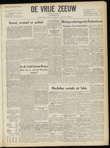 de Vrije Zeeuw 1951-04-14