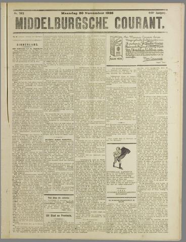 Middelburgsche Courant 1925-11-30