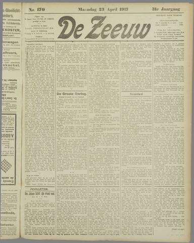 De Zeeuw. Christelijk-historisch nieuwsblad voor Zeeland 1917-04-23