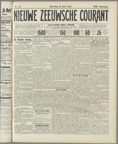 Nieuwe Zeeuwsche Courant 1915-06-26