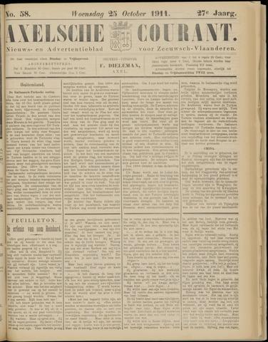 Axelsche Courant 1911-10-25