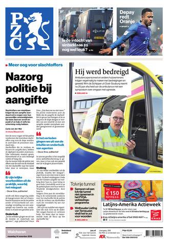 Provinciale Zeeuwse Courant 2016-11-14