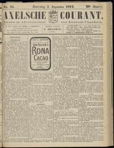 Axelsche Courant 1912-08-03