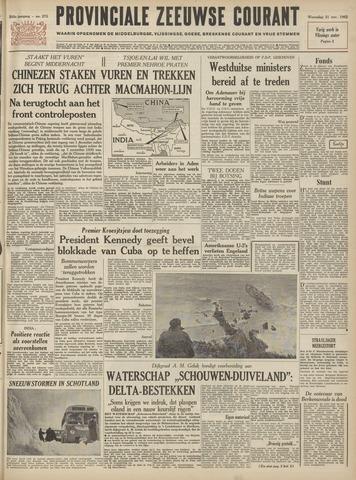Provinciale Zeeuwse Courant 1962-11-21