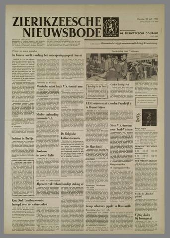 Zierikzeesche Nieuwsbode 1965-07-27