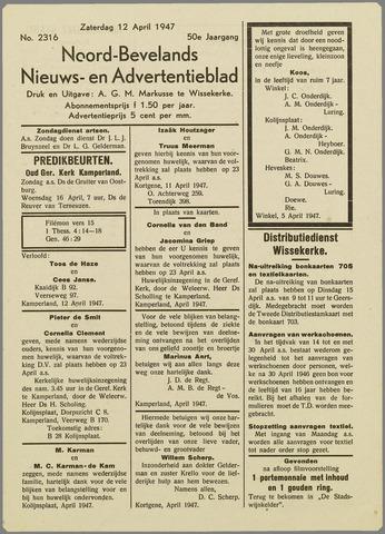 Noord-Bevelands Nieuws- en advertentieblad 1947-04-12