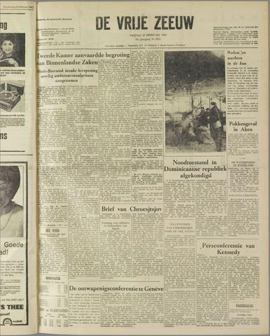 de Vrije Zeeuw 1962-02-23