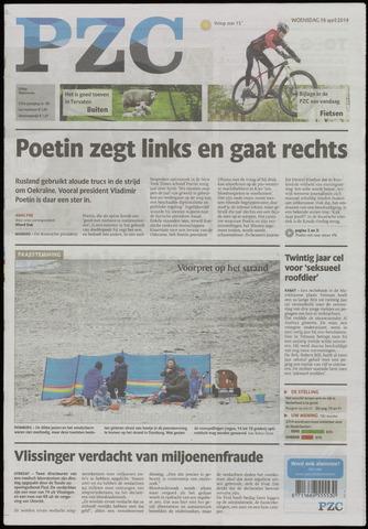 Provinciale Zeeuwse Courant 2014-04-16
