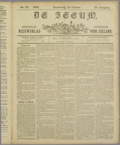 De Zeeuw. Christelijk-historisch nieuwsblad voor Zeeland 1906-10-25