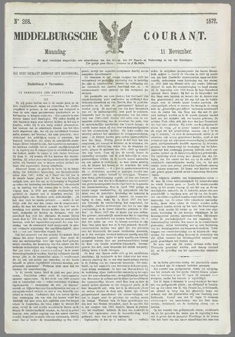 Middelburgsche Courant 1872-11-11