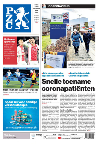 Provinciale Zeeuwse Courant 2020-03-02