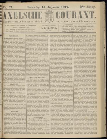 Axelsche Courant 1912-08-14