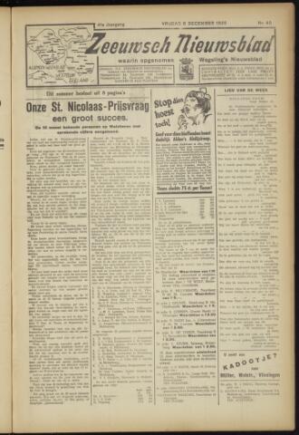 Zeeuwsch Nieuwsblad/Wegeling's Nieuwsblad 1935-12-06