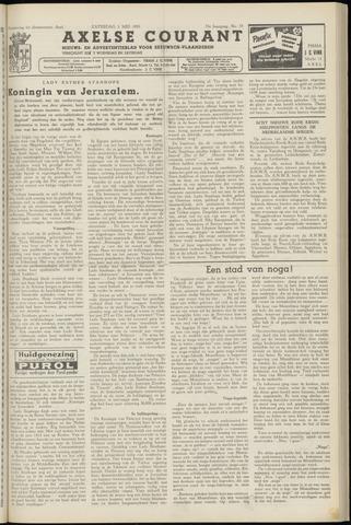 Axelsche Courant 1958-05-03