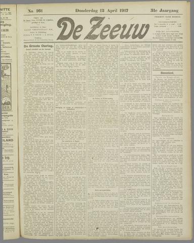 De Zeeuw. Christelijk-historisch nieuwsblad voor Zeeland 1917-04-12