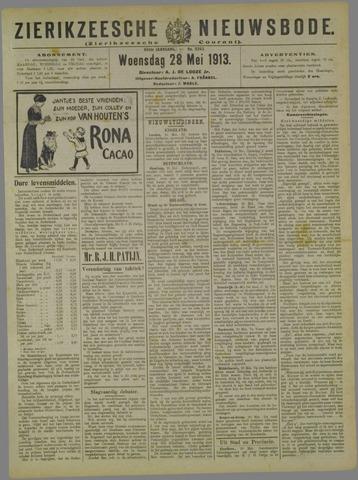 Zierikzeesche Nieuwsbode 1913-05-28