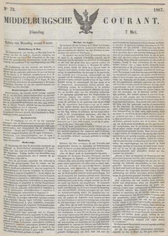 Middelburgsche Courant 1867-05-07