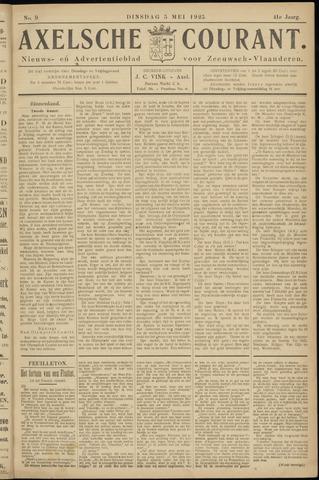 Axelsche Courant 1925-05-05