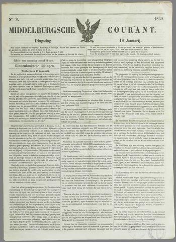 Middelburgsche Courant 1859-01-18