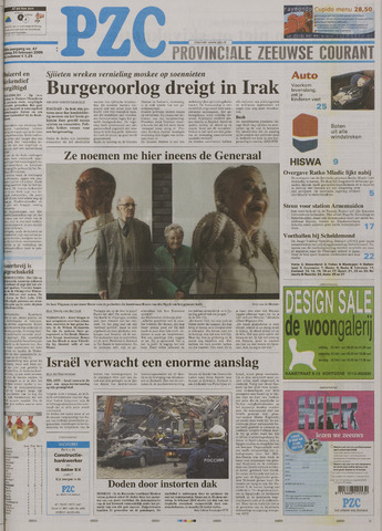 Provinciale Zeeuwse Courant 2006-02-24