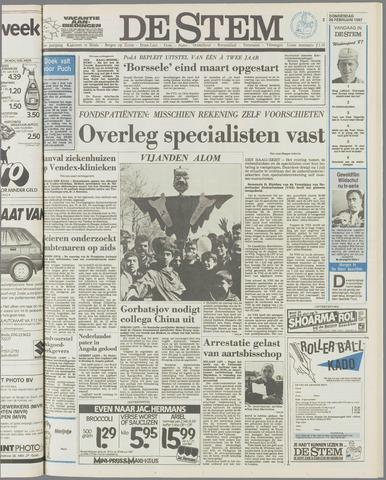de Stem 1987-02-26