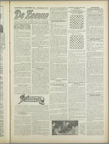 De Zeeuw. Christelijk-historisch nieuwsblad voor Zeeland 1943-12-29
