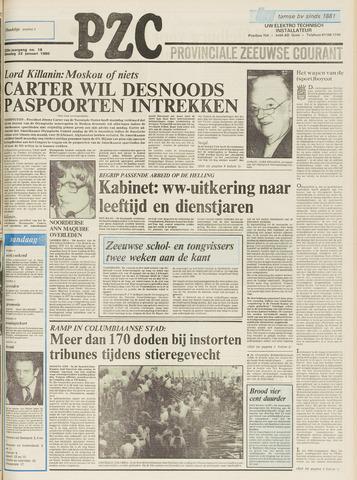Provinciale Zeeuwse Courant 1980-01-22