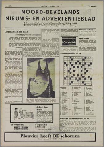 Noord-Bevelands Nieuws- en advertentieblad 1967-10-21
