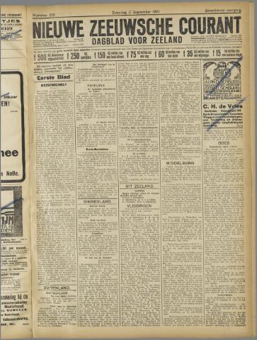 Nieuwe Zeeuwsche Courant 1921-09-03