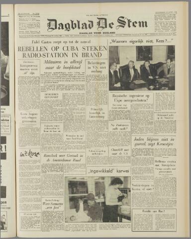 de Stem 1958-04-10
