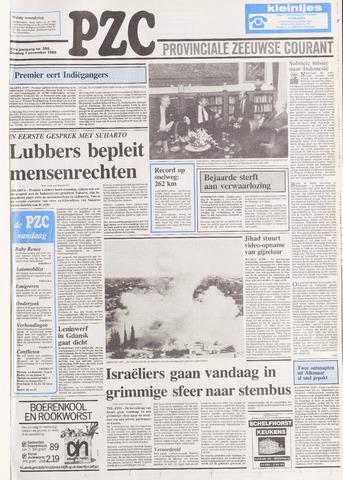 Provinciale Zeeuwse Courant 1988-11-01