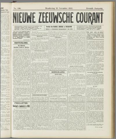 Nieuwe Zeeuwsche Courant 1911-11-16